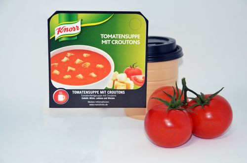 Klix Knorr® Tomatensuppe mit Croutons (SP13)